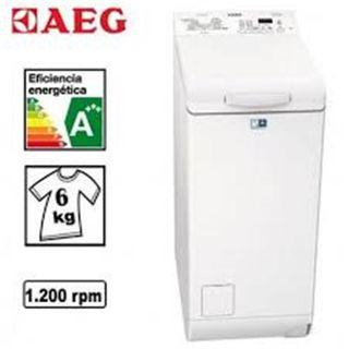 Lavadora carga superior AEG 6kg 1200rpm