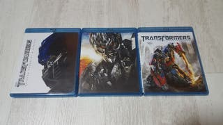 Peliculas de Transformers en bluray