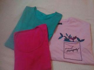 Lote camisetas talla M