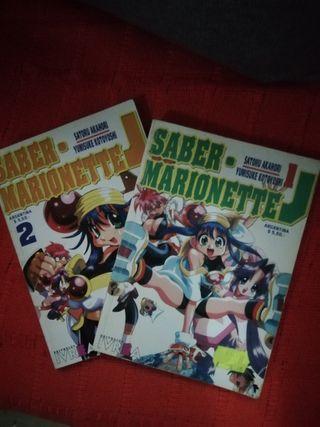 Manga Saber Marionete J 1 y 2