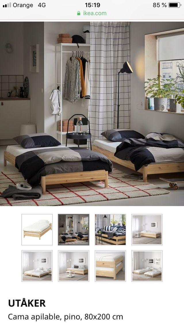 Cama apilable IKEA
