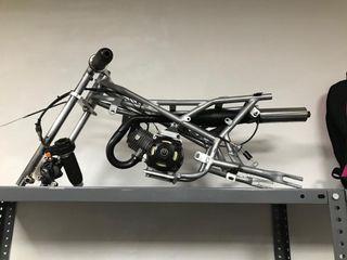 Chasis minimoto con motor