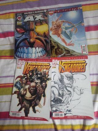 4 comics