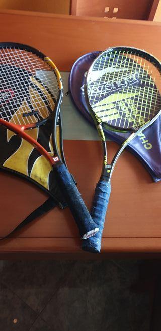 2 raquetas