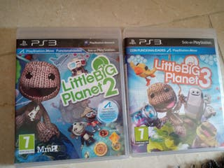 PS3 little Big Planet 2 y 3