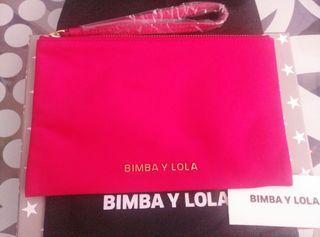 Bolso de mano bimba y lola nuevo rosa