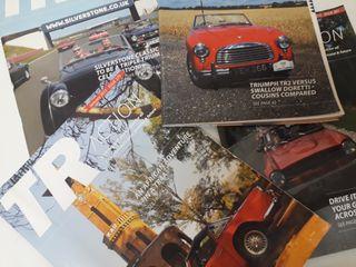 Revistas Triumph Automóvil Motor
