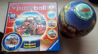 puzzle ball 3D lámpara Cars