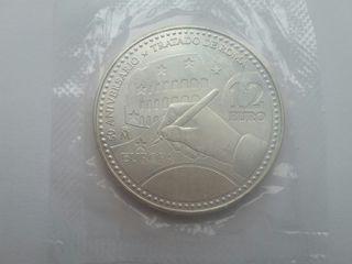 Moneda de plata de 12 euros de 2007