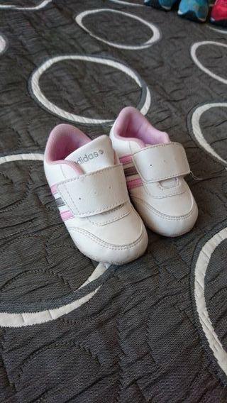 Zapatillas adidas niña talla 19