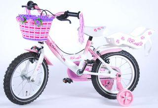 """Bicicleta infantil Volare Rose 14"""" (V-brakes)"""