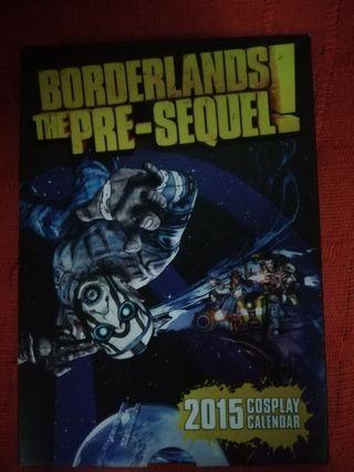 Calendario Cosplay borderlands 2015