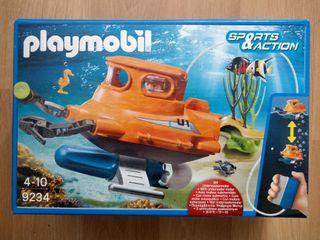 Submarino playmobil 9234