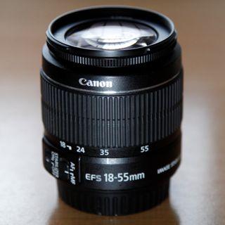 Objetivo Canon EF-S 18-55mm 3.5-5.6 IS II