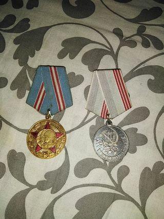 medallas del ejército ruso antiguas