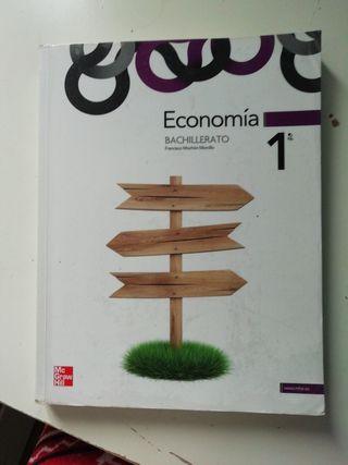 Libro economia bachillerato de Francisco Mochón