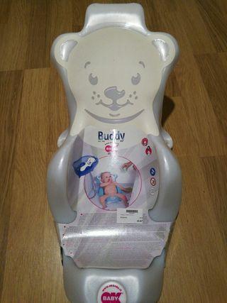 Hamaca baño para bebe.