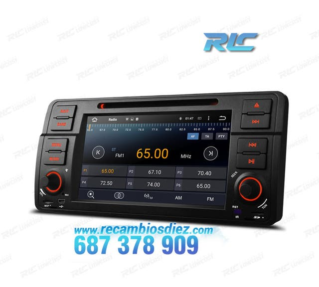 "RADIO ANDROID 5.1 7"" BMW E46 USB GPS HD"