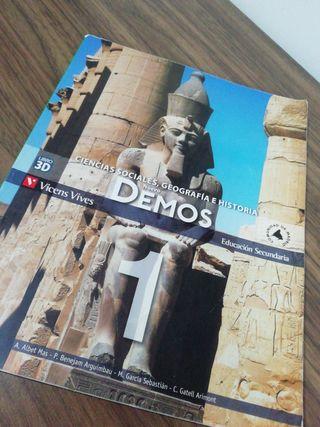 Libro de Ciencias Sociales de 1ro ESO
