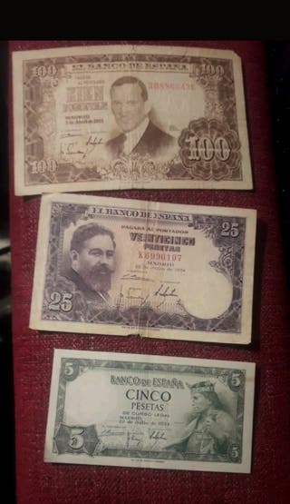 billetes españa