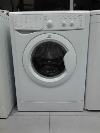 lavadora marca indesit 6kg 1000rpm