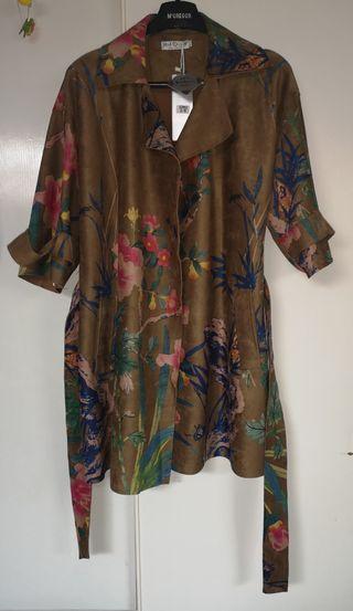 chaqueta kimono mujer