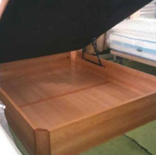 Canapé 1.50 madera NUEVO, de calidad y no