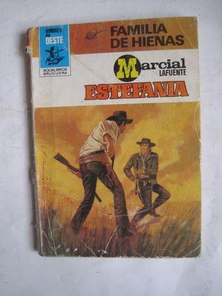 libro novela oeste Familia de Hienas Estefanía