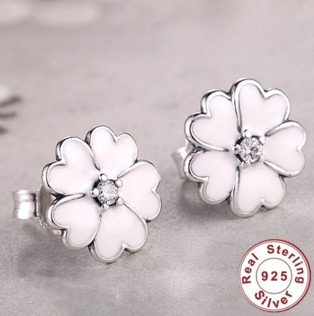 bbe40b1e9711 Pendientes Plata para mujer forma Flor de segunda mano por 15 € en ...