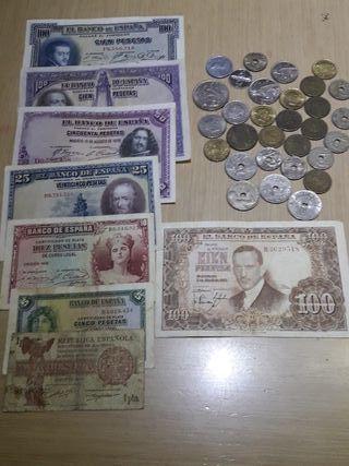 Monedas y billetes antiguos 2