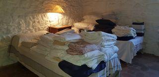 Textil casa. Ropa de cama, sofá, baño, cortinas.