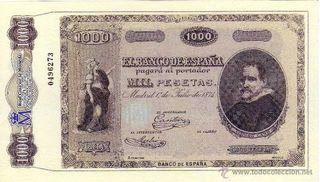 conmemoración billete España banco central