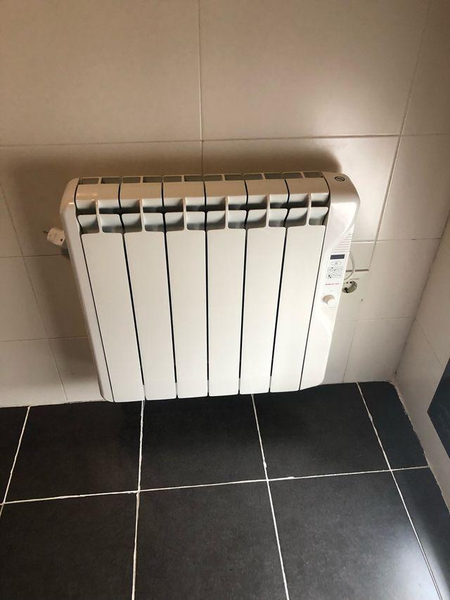 4 radiadores el ctricos de calor azul gabarr n de segunda - Radiadores de calor azul ...