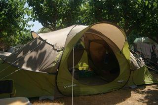 tienda de campaña quechua base 4.2