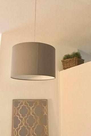 Lámpara de techo decoración gris