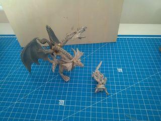 Dragón del Chaos . Warhammer