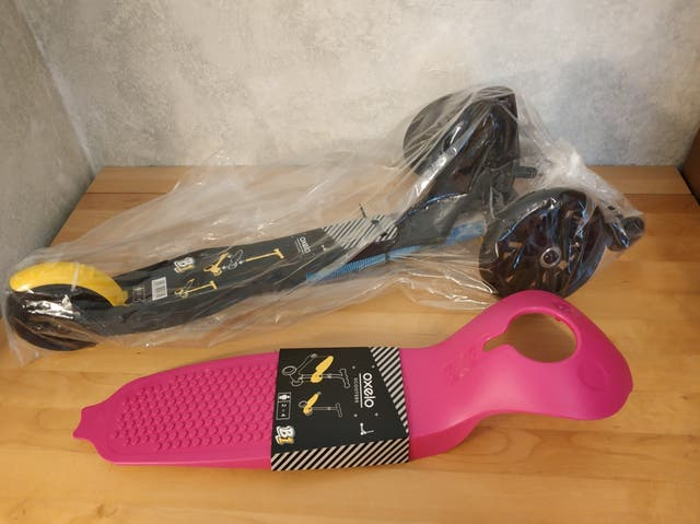 Patinete Decathlon 3 ruedas