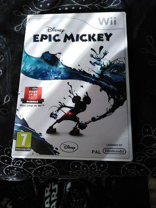epic mickey para wii