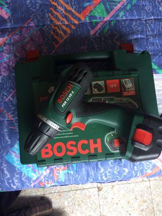 Taladro atornillador de batería bosch