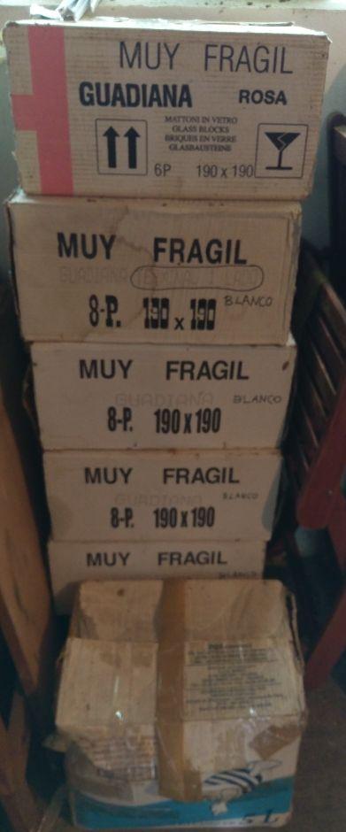 53 ladrillos paves nuevos (en cajas originales)