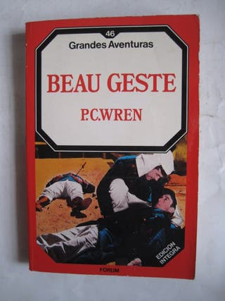 libro beau geste p. c. wren grandes aventuras 46