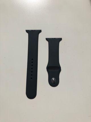 Pulsera Apple Watch negra M/L