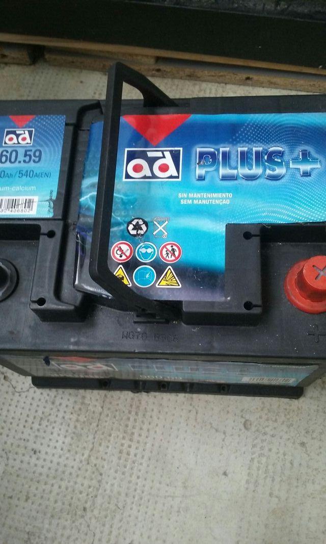 batería de coches