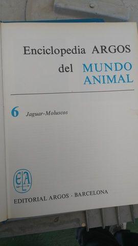 Enciclopedia Argos del mundo animal