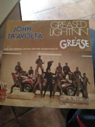 JOHN TRAVOLTA GREASED LIGHTNIN GREASE SANDY