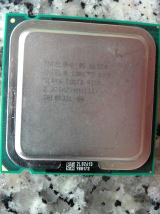 Procesador intel core duo e6550