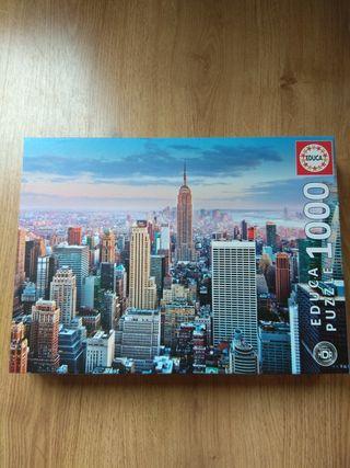 Puzzle 1000 piezas Nueva York