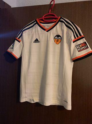 Camiseta fútbol valencia