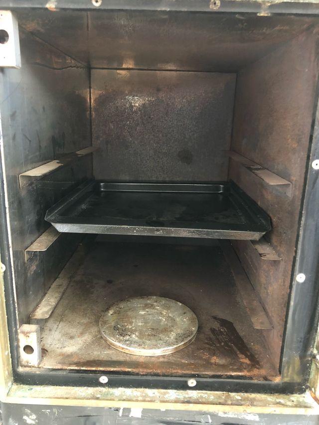 Cocina calefactora imigas
