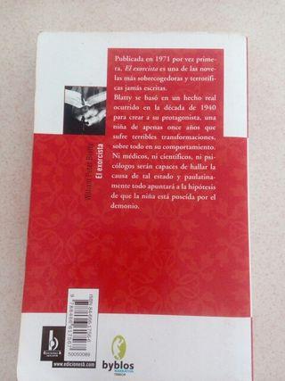Libro El Exorcista.